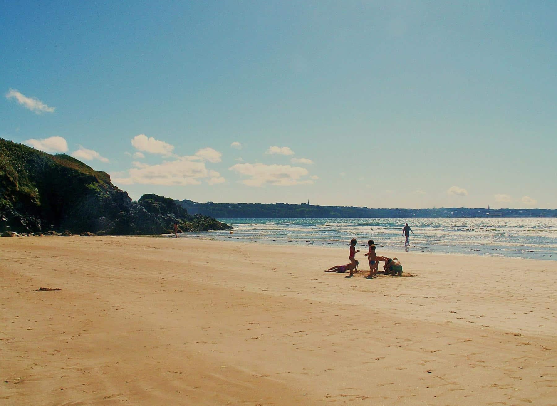 La Plage de Kervel dans Finistère Bretagne - Résidence Ker Ar Moor